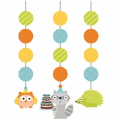 Happi Woodland Boy Hanging Cutouts 18 ct