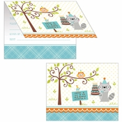 Happi Woodland Boy Invitations 48 ct