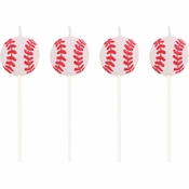 Baseball Pick Candles 48 ct