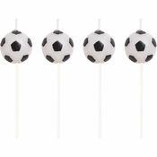 Soccer Pick Candles 48 ct