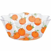 Pumpkins and Leaves Bowls 12 ct