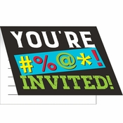Old Age Humor Invitations 48 ct