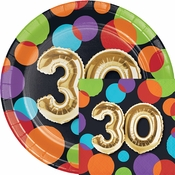 Balloons 30th Birthday Party Supplies