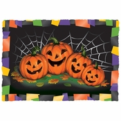 "10"" x 14"" Burnt Edge Halloween Paper Placemats 1000 ct"