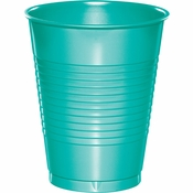 Teal Lagoon 16 oz Plastic Cups 240 ct