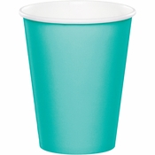 Teal Lagoon 9 oz Hot & Cold Cups 240 ct