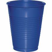 Cobalt Blue 16 oz Plastic Cups 600 ct