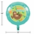 Sloth Party Mylar Balloons 10 ct