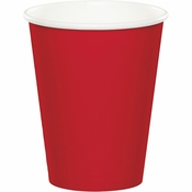 Classic Red 9 oz Hot & Cold Cups 96 ct