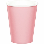 Classic Pink 9 oz Hot & Cold Cups 96 ct