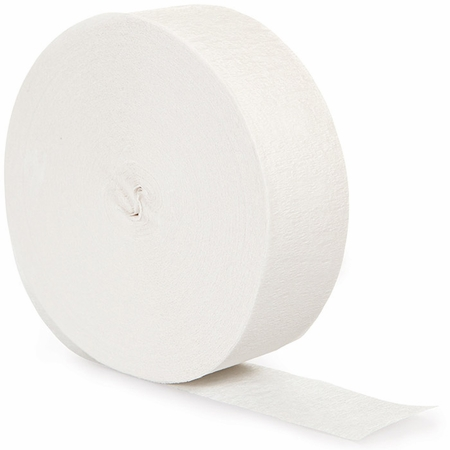 White 500 Streamers 12 ct