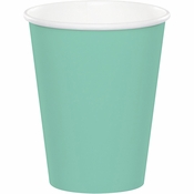 Fresh Mint Green 9 oz Hot & Cold Cups 240 ct