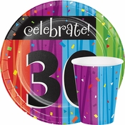 Milestone Celebrations 30th Birthday Party Supplies
