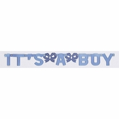 Its a Boy Banners 12 ct