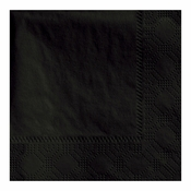 "4.75"" Regal Embossed Black Beverage Napkins 3000 ct"