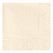 "4.75"" Regal Embossed Ecru Ivory Beverage Napkins 1000 ct"
