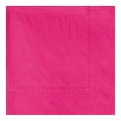 "4.75"" Regal Embossed Hot Pink Beverage Napkins 1000 ct"