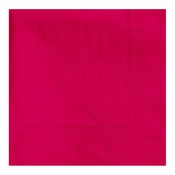 "4.75"" Regal Embossed Red Beverage Napkins 1000 ct"