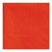 "4.75"" Regal Embossed Orange Beverage Napkins 1000 ct"