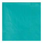 "4.75"" Regal Embossed Teal Beverage Napkins 1000 ct"