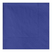 "4.75"" Regal Embossed Navy Beverage Napkins 1000 ct"