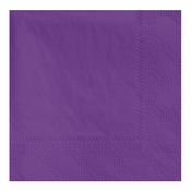 "4.75"" Regal Embossed Purple Beverage Napkins 1000 ct"