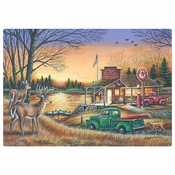 "10"" x 14"" Peaceful Evening Paper Placemats 1000 ct"
