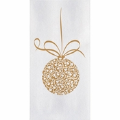 Linen-Like Ornament Guest Towels 500 ct