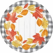 Falling Leaves Dinner Plates 96 ct