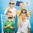 Toy Airplane Photo Booth Props 60 ct