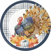 Thanksgiving Elegance Dinner Plates 96 ct