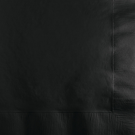 Black Velvet Beverage Napkins 240 ct