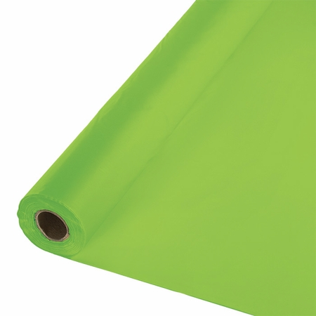 Touch of Color Fresh Lime Banquet Table Roll 1 ct in quantities of 1 / pkg, 1 pkg / case