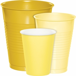 Wholesale Yellow Party Cups