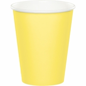 Touch of Color Mimosa 9 oz Hot & Cold Cups in quantities of 24 / pkg, 10 pkgs / case