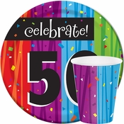 Milestone Celebrations 50th Birthday Party Supplies