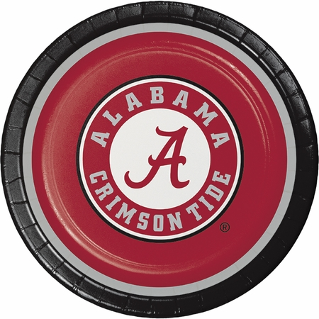 University of Alabama Dinner Plates 96 ct