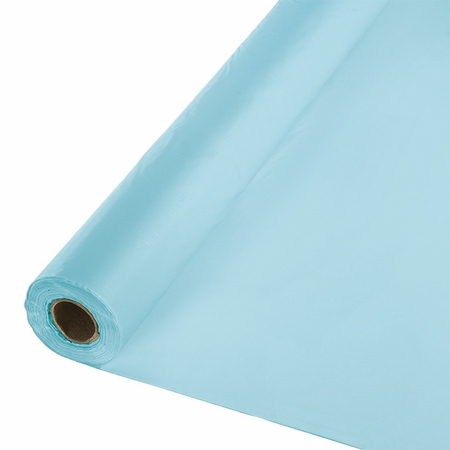 Touch of Color Pastel Blue Banquet Table Roll in quantities of 1 / pkg, 1 pkg / case