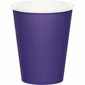 Purple 9 oz Hot & Cold Cups 96 ct