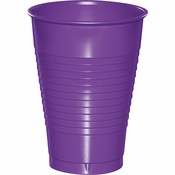 Amethyst Purple Premium Plastic Cups 12 oz 240 ct