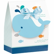 Blue Baby Whale Favor Bags 72 ct