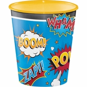 Superhero Slogans Plastic Cups 12 ct
