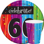 Milestone Celebrations 60th Birthday Party Supplies