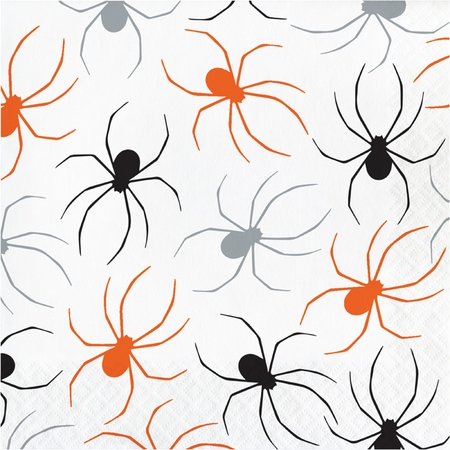 Spider Halloween Luncheon Napkins 192 ct