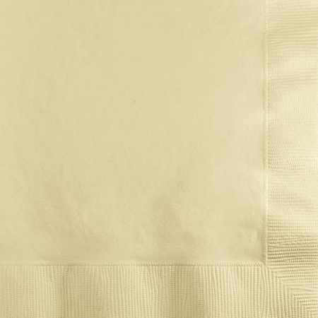 Ivory Beverage Napkins 3 ply 500 ct