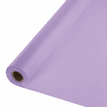 Touch of Color Luscious Lavender Banquet Table Roll in quantities of 1 / pkg, 1 pkg / case