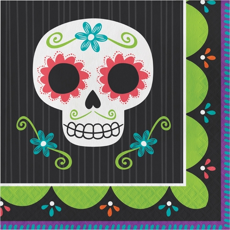 Day of the Dead Luncheon Napkins 192 ct
