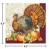 Traditional Turkey Luncheon Napkins 192 ct