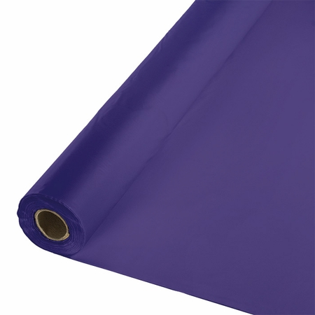 Touch of Color Purple Banquet Table Roll in quantities of 1 / pkg, 1 pkg / case