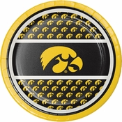 University of Iowa Dessert Plates 96 ct